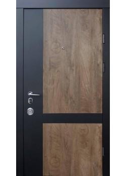Двері Франк-М зпил дерева кон'ячний Qdoors