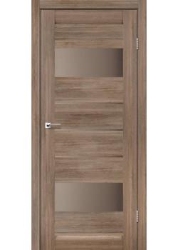 Двери Arona Сатин бронза серое дерево Leador