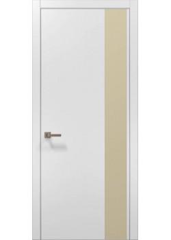 Двери PL-05 белый матовый Папа Карло