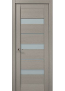 Двері ML-22 пекан світло-сірий Папа Карло