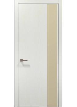 Двери PL-05 белый ясень Папа Карло