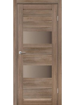 Двери Canneli Сатин бронза Leador