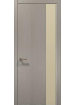 Двери PL-05 пекан светло-серый Папа Карло