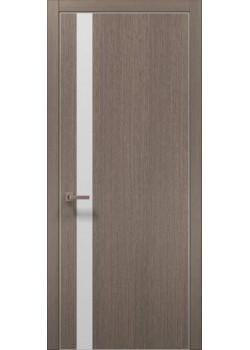 Двери PL-04 дуб серый брашированный Папа Карло