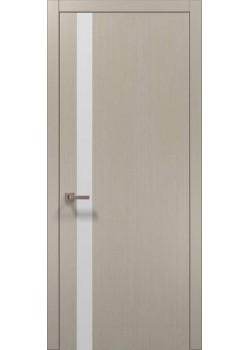 Двери PL-04 дуб кремовый брашированный Папа Карло