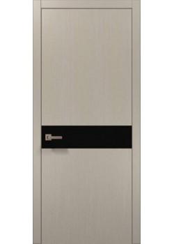Двери PL-03 дуб кремовый брашированный Папа Карло