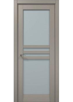 Двері ML-30 пекан світло-сірий Папа Карло