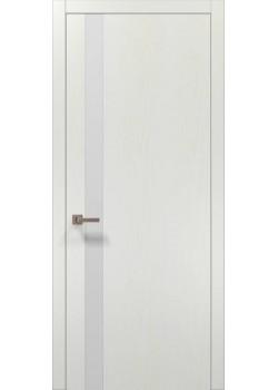 Двери PL-04 белый ясень Папа Карло