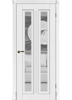 Двери Верона ПОО белая DVERIPRO