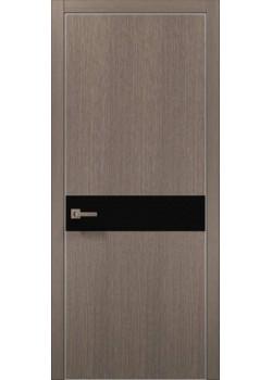 Двери PL-03 дуб серый брашированный Папа Карло