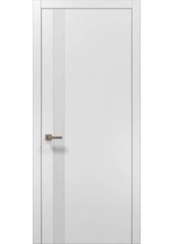 Двери PL-04 белый матовый Папа Карло
