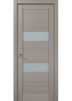 Двері ML-21 пекан світло-сірий Папа Карло