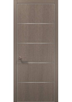 Двері PL-02 дуб сірий брашований Папа Карло