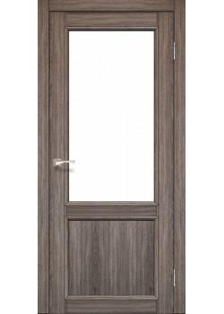 Двери CL-02 сатин белый Korfad