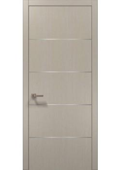 Двері PL-02 дуб кремовий брашований Папа Карло