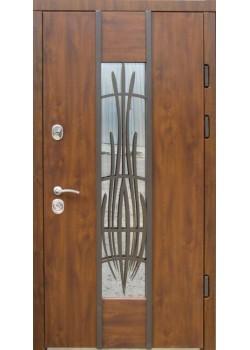 Двері Авеню Vinorit з ковкою Redfort