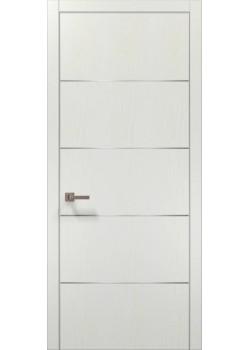 Двері PL-02 білий ясень Папа Карло