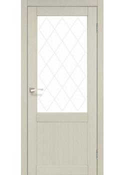 Двери CL-01 сатин белый Korfad