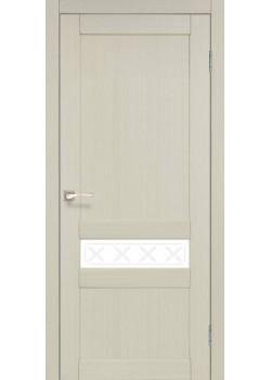 Двери CL-06 сатин белый Korfad