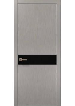 Двери PL-03 шелк серебро Папа Карло