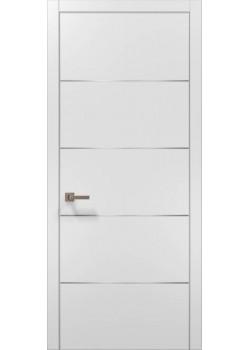 Двері PL-02 білий матовий Папа Карло