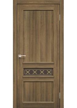 Двери CL-07 сатин бронза Korfad