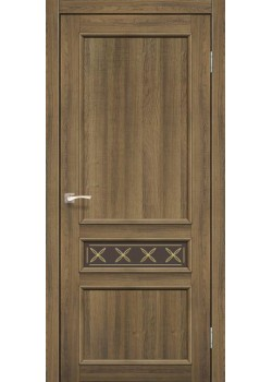 Двері CL-07 сатин бронза Korfad