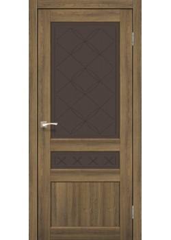 Двери CL-04 сатин бронза Korfad