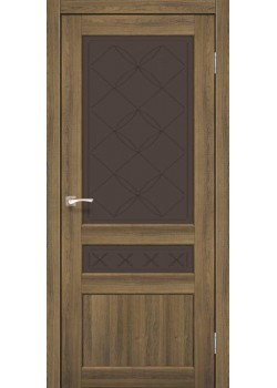 Двері CL-04 сатин бронза Korfad