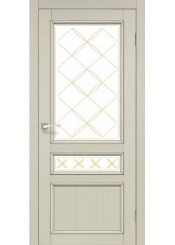Двери CL-05 сатин белый Korfad