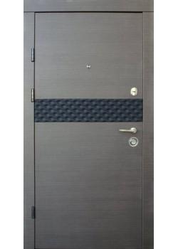 Двери Премиум Сити-М венге серый горизонт Qdoors