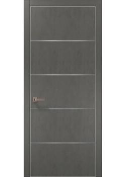 Двері PL-02 бетон сірий Папа Карло