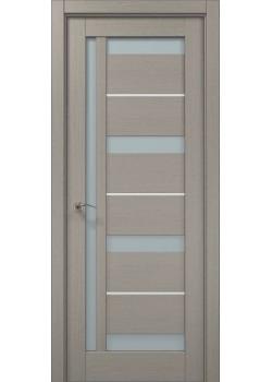 Двері ML-48 AL пекан світло-сірий Папа Карло