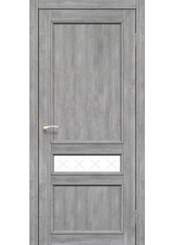Двері CL-07 сатин білий Korfad