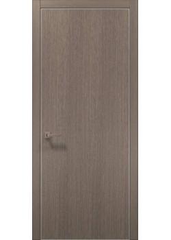 Двері PL-01 дуб сірий брашований Папа Карло
