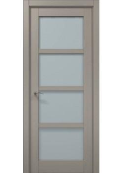 Двері ML-32 пекан світло-сірий Папа Карло
