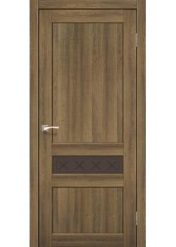 Двери CL-06 сатин бронза Korfad