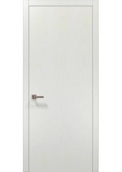 Двері PL-01 білий ясень Папа Карло