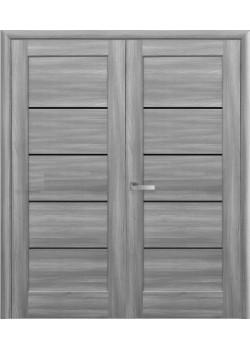 Двери Мира BLK двойные Новый Стиль