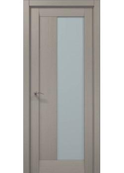 Двері ML-20 пекан світло-сірий Папа Карло