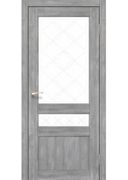 Двері CL-04 сатин білий Korfad