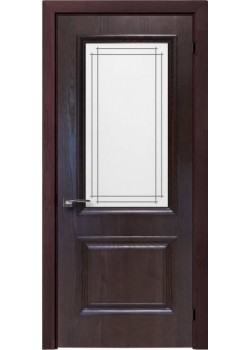 Двери Avalon Полустекло Шпон Rodos