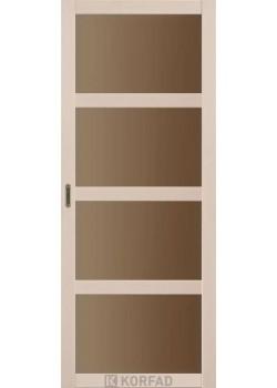 Двері BL-01 сатин бронза Korfad