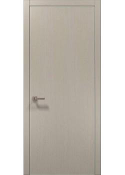 Двері PL-01 дуб кремовий брашований Папа Карло