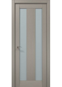 Двері ML-19 пекан світло-сірий Папа Карло