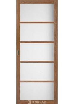 Двері BL-02 сатин білий Korfad