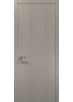 Двері PL-01 пекан світло-сірий Папа Карло