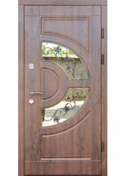 Двери Греция Винорит Премиум со стеклопакетом Форт
