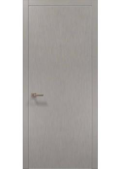 Двері PL-01 шовк срібло Папа Карло