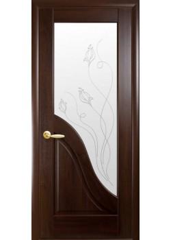 Двери Амата+Р2 Каштан Новый Стиль